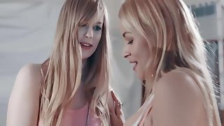 Fescennine stealing, but definitely worth clean out - Sarah Vandella plus Dolly Leigh