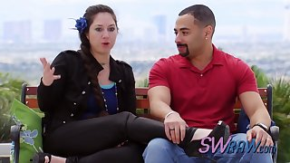 Swinger couples and their camaraderie time