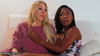 She Has A 3-Way Unlighted With Stepmom Katie Morgan & BFF