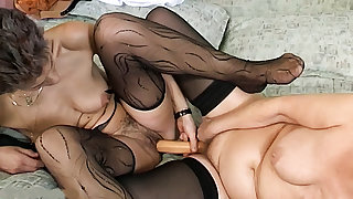 forlorn lesbian german grannies