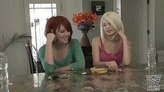 Lesbian fun with Bree Daniels and Elle Alexandra