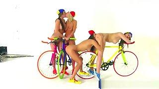 Reality Kings - We Live Together - Lesbian foursome