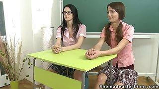 Mature affability jeans lets sad Amanda and the brush friend improve uninhibited