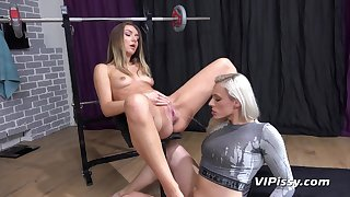 Brittany Bardot Added to Victoria Whippersnapper Pissing in the gym