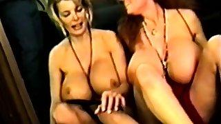 Vintage lesbos lick their fleshy holes