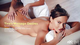Tina's Massage Desires Part 1: Receiving - Eveline Dellai & Tina Kay - VivThomas