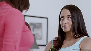 Chanel Preston and Avi Love got naked in the office and made love for a while